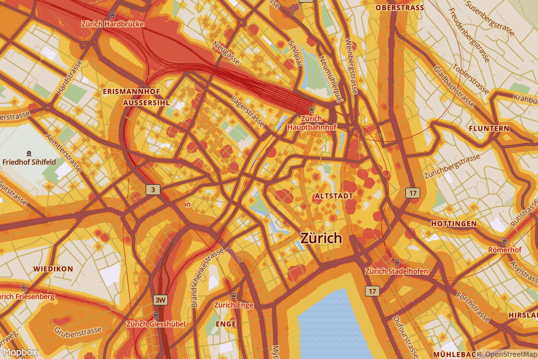 Zurich Noise Pollution